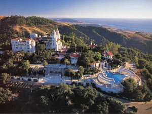 Hearst Castle Aerial